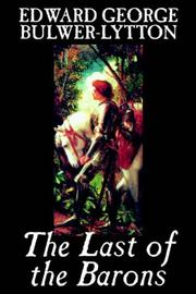 Cover of: The last of the barons