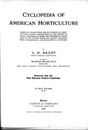 Cyclopedia of American horticulture