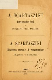 Cover of: Conversation-book in English and Italian -