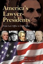 Cover of: America's Lawyer-Presidents |