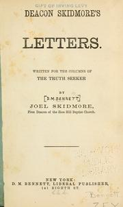 Cover of: Deacon Skidmore