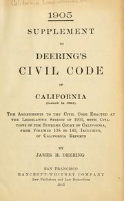 Civil code by California.