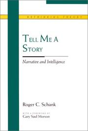 Cover of: Tell me a story | Roger C. Schank