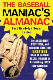 Cover of: The Baseball Maniac