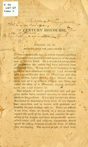 Cover of: A discourse delivered at Lexington, March 31, 1813 | Avery Williams