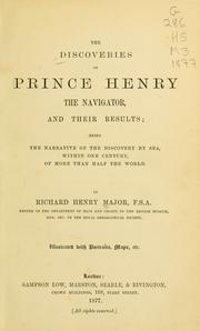 Cover of: The discoveries of Prince Henry the Navigator
