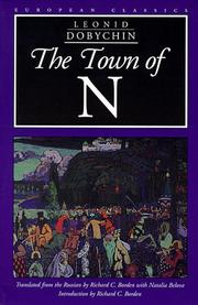 Cover of: The town of N