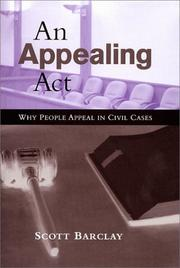 Cover of: An appealing act | Scott Barclay