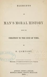 Cover of: Elements of man