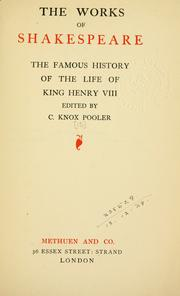 an introduction to the life and history of king henry
