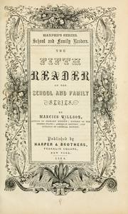Cover of: The first [-fifth] reader of the school and family series