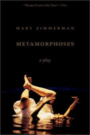 Cover of: Metamorphoses | Mary Zimmerman