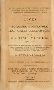 Cover of: Free town libraries, their formation, management, and history by Edwards, Edward