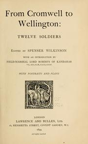Cover of: From Cromwell to Wellington
