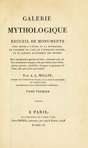Cover of: Galerie mythologique