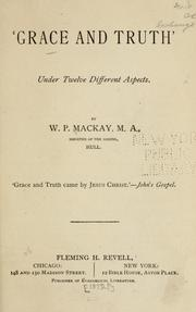 Cover of: 'Grace and truth'