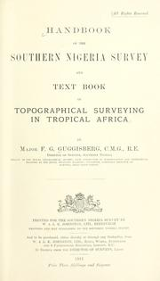 Cover of: Handbook of the Southern Nigeria Survey