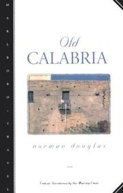 Cover of: Old Calabria