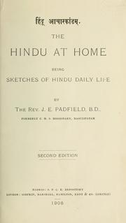 Cover of: The Hindu at home | Joseph Edwin Padfield