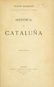 Cover of: Historia de Cataluña