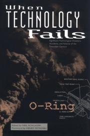 Cover of: When technology fails | edited by Neil Schlager ; foreword by Henry Petroski.