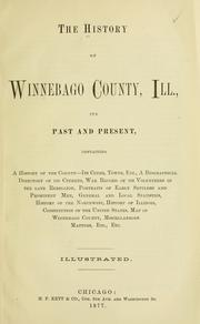 Cover of: The History of Winnebago County, Ill |