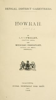 Cover of: Howrah