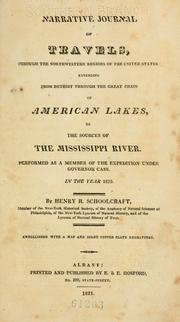 Cover of: Narrative journal of travels through the northwestern regions of the United States