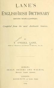 Cover of: Lane