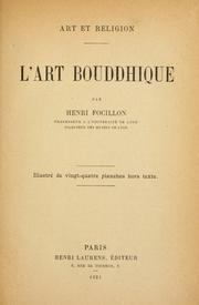 Cover of: Lʹ art bouddhique