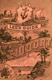Lee's guide to Newport by Lee, Henry, pub