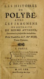Cover of: Les vies des hommes illustres de Plutarque by Plutarch