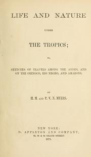 Cover of: Life and nature under the tropics