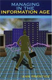 Cover of: Managing in the information age