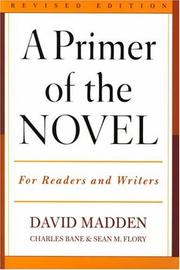 Cover of: A primer of the novel