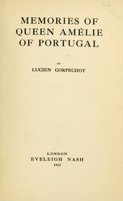Cover of: Memories of Queen Amélie of Portugal