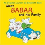 Cover of: Meet Babar and his family