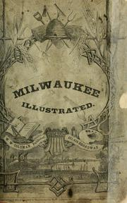 Cover of: Milwaukee illustrated. | Charles B. Harger