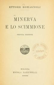 Cover of: Minerva e lo scimmione