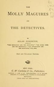 Cover of: The Molly Maguires and the detectives