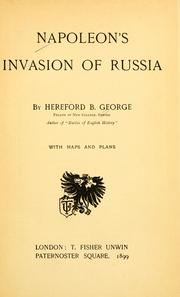 Napoleons invasion of Russia