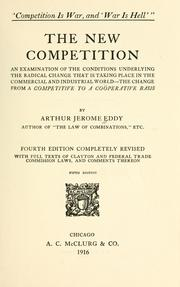 The new competition by Arthur Jerome Eddy