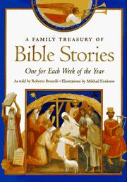 Cover of: A family treasury of Bible stories