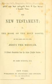 Cover of: The New Testament |