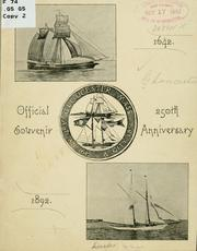 Cover of: Official souvenir, 250th anniversary by Gloucester, Mass