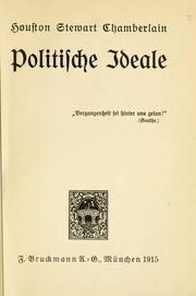 Cover of: Politische Ideale ..