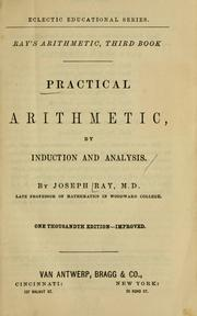 Cover of: Practical arithmetic | Joseph Ray