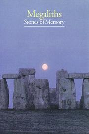 Cover of: Mégalithes: stones of memory