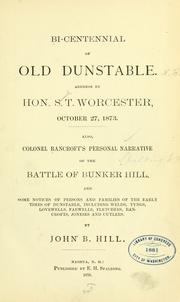 Cover of: Reminiscences of old Dunstable. | John Boynton Hill