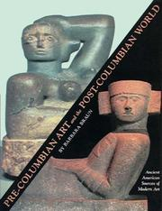 Cover of: Pre-Columbian Art and the Post-Columbian World | Barbara Braun